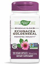 Echinacea Goldenseal, Nature's Way, 100 capsules