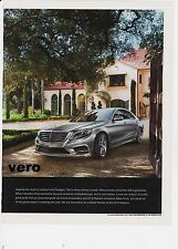 MERCEDES BENZ 2014 magazine ad photo print art clipping car automobile advert