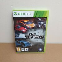 THE CREW XBOX 360 GAME PAL * Fast Dispatch * CASE AND DISCS