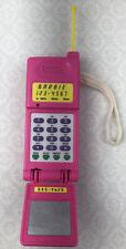 Vintage 1995 Barbie Super Talking Flip Phone Tested Works