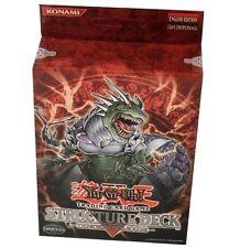 Yu-Gi-Oh! Dinosaur's Rage Starter Structure Deck Box! 1st Edition ULTRA RARE