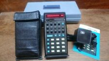 HEWLETT-PACKARD HP-35 EARLY VERSION WITH 2.02 BUG CALCULATOR WORKS PERFECTLY