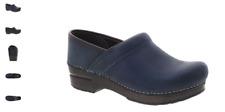 Dansko Professional Blue Oiled Pull Up Women's US sizes 36-42/6-12 NEW!!!