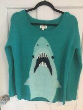 Modcloth Big Fuzzy Shark Sweater Oversized M NWOT