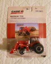 Ertl Farm Country Toy CaseIH 7110 Magnum Tractor w/Loader MIP 1/64!