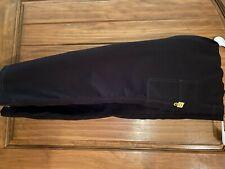 wonderwink scrub pants, Four-Stretch, Black, Size L