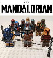Star Wars The Mandalorian Paz Vizla The Builder Custom 11 Minifigures Lot - USA