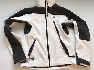 Helly Hansen Jacket Black White Unisex Size Small S/P