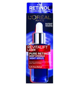 L'Oreal Paris Revitalift Laser Pure Retinol Deep Anti-Wrinkle Night Serum 30ml