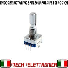 Encoder rotativo con pulsante interruttore rotary encoder switch per pcb arduino