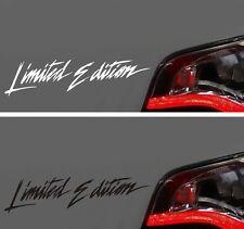 Aufkleber Limited Edition Autoaufkleber Motorrad NEU Sticker Aufkleber Tuning