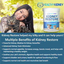 Healthy Kidney Inc Kidney Support Probiotic For Cats & Dogs, 3.17 Oz.