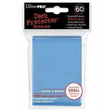 ULTRA PRO Deck Protector Sleeves Small 60ct 62 x 89 light Blue Yugioh