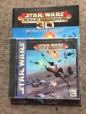 Star Wars - ROGUE SQUADRON 3D Pc Cd Rom  Original