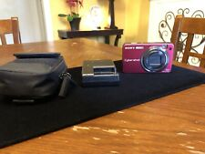 Sony DSC-W170 Super SteadyShot Red 10.1MP Digital Camera