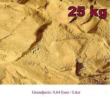 25kg Lehmpulver für Terrariensand, Bodengrund