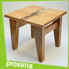 Small Wooden Wood Stool Bench Furniture for Adult Kids - Modern Design