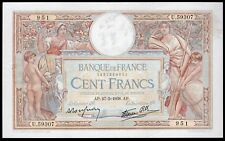 France. Banque De France. 100 Francs, 27-5-1938. 1482669951. (Pick 86b). VF-EF.