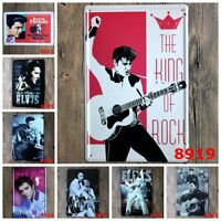 Rock Star Retro Tin Sign Wall painting Poster Cafe Bar Home Decor Hanging Signs