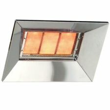Bromic Heat-Flo SS LPG Heater (2620100-1) - Silver