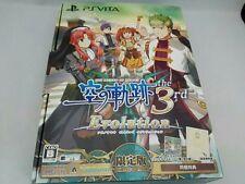 PS Vita Limited ver. The Legend Of Heroes Sora no Kiseki the 3rd Evolution Game