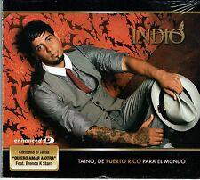 Indio   Taino de Puerto Rico Para el Mundo  Enhanced CD   BRAND  NEW SEALED  CD
