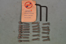 NOS 1965-69 Harley Shovelhead Engine Case Allen Screw Set, FLH