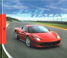 Ferrari 458 Italia, Hardcover-Prospekt 2009