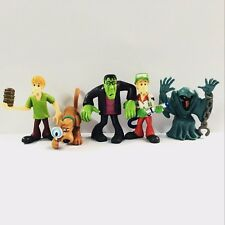 Promotion Xmas Gift 5X Scooby Doo Crew Set. Mystery Mates 2.5'' Figure Toys Gift