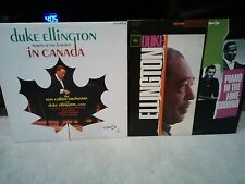 DUKE ELLINGTON NORTH OF BORDER CANADA/ 1-LP ONLY EXC+JAZZ STEREO DECCA