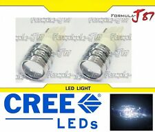 CREE LED Light 5W 3156 White 5000K Two Bulbs Turn Signal Parking Brake Tail Stop