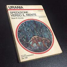 Dean Koontz - Spedizione verso il niente - 1ª Ed. Mondadori - Urania n.733