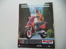 advertising Pubblicità 1997 MALAGUTI CROSSER 50