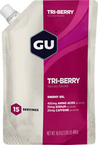 GU Energy Gel: Triberry, 15 Serving Pouch