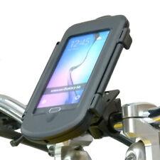 Motorcycle PRO Handlebar Mount & Waterproof Case for Samsung Galaxy S6