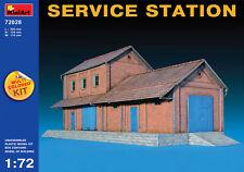 MINIART 1/72 Service Station (Multicolore Kit) #72028