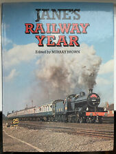 More details for jane's railway year books 1981 to 1986  - murray brown (six books)