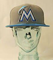 MLB Florida Marlins Hat Cap Baseball Fitted 7.25 New Era 59 Fifty Miami 7 1/4 FL