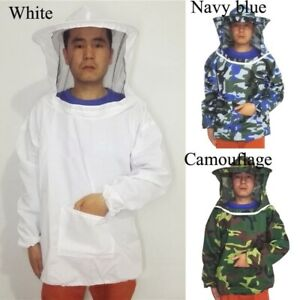 Jacket Pull Beekeeping Suit With Over Equipment Xl And Smock Veil Hat Unisex