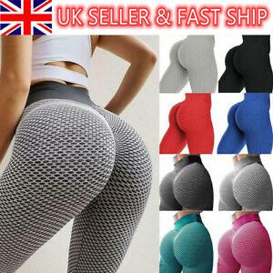 Women Anti-Cellulite Yoga Pants Push Up Leggings Bum Butt Lift Sport Gym S-2XL*
