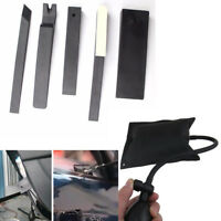 6pcs Plastic Wedge Pry Air Bag Tool Kit Car Dent Repair Window Door Moulding NEW