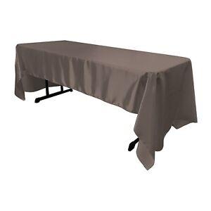 Tablecloth Satin 45x54,45x90,45x120,54x72, 54x96, 54x120, 60x90, 60x102, 60x144