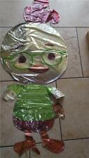 "DISNEY,CHICKEN LITTLE  50"" FOIL HELIUM BALLOON SUPER SHAPED  NEW LOOSE"