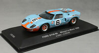 IXO Ford GT40 Gulf Le Mans Winner 1969 Jacky Ickx & Jackie Oliver LM1969 1/43NEW
