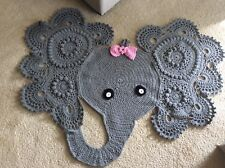 Baby's Room Rug Crocheted