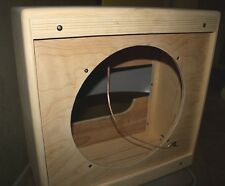 rawcabs 1x15 pine narrow panel extension speaker cabinet project