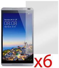 "6x Protector Pantalla Hellfire Trading Lámina para Huawei MediaPad M1 8.0 8"""