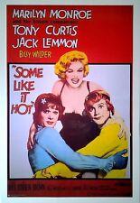 Manche mögen's heiß - Some Like It Hot (1959)    US Import Filmplakat Poster