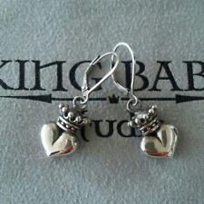 KING BABY STUDIO Star jewelry silver earrings heart No. 925 From JAPAN