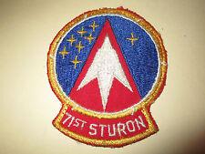 VIETNAM ERA USAF 71st STURON TRAINING SQUADRON PATCH